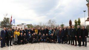 Vali Nayir, '10 Ocak Çalışan Gazeteciler Günü' vesilesi ile basınla buluştu.