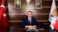 Aday Tanıtım Toplantısı öncesi AK Parti Sakarya İl Başkanı Yunus Tever'den açıklama