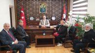 Arifiye Öğretmen Okulları Derneği Kaymakam Dınkırcı'yı ziyaret etti