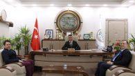 Kaymakam Dınkırcı'dan Baro Başkanı Burak'a hayırlı olsun ziyareti