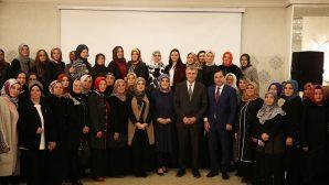 Başkan Adayı Ekrem Yüce, 'Kadın Gözüyle İlçem' programına katıldı.