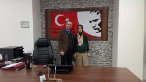Eslem Rana Wushuda Türkiye Birincisi oldu.
