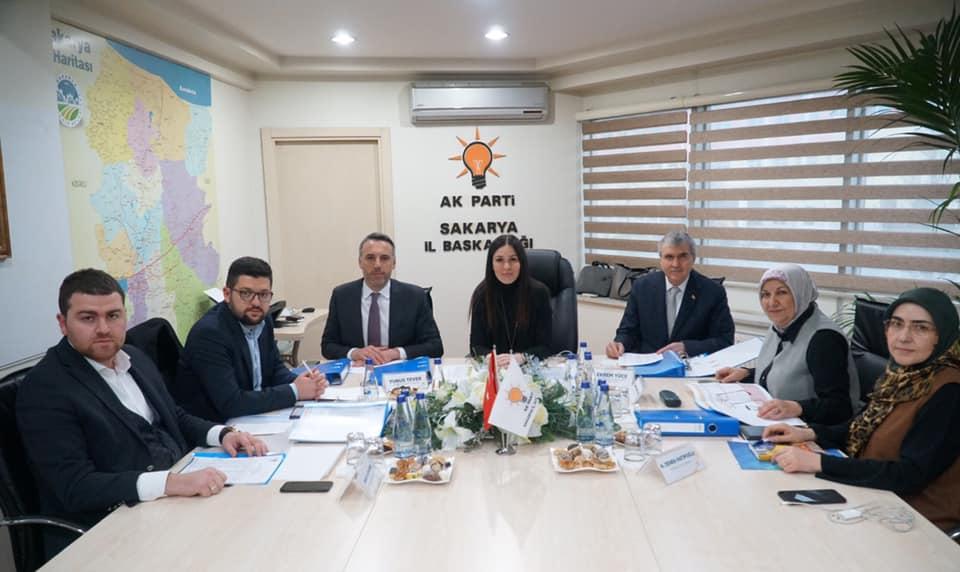 Ak Partide Belediye Meclis Üyeliği İnceleme ve Onaylama Komisyonu oluştu