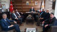 AK Parti Sakarya İl Başkanı Yunus Tever'e hayırlı olsun ziyaretleri sürüyor.