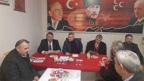 Ekrem Yüce'den MHP Arifiye İlçeye ziyaret