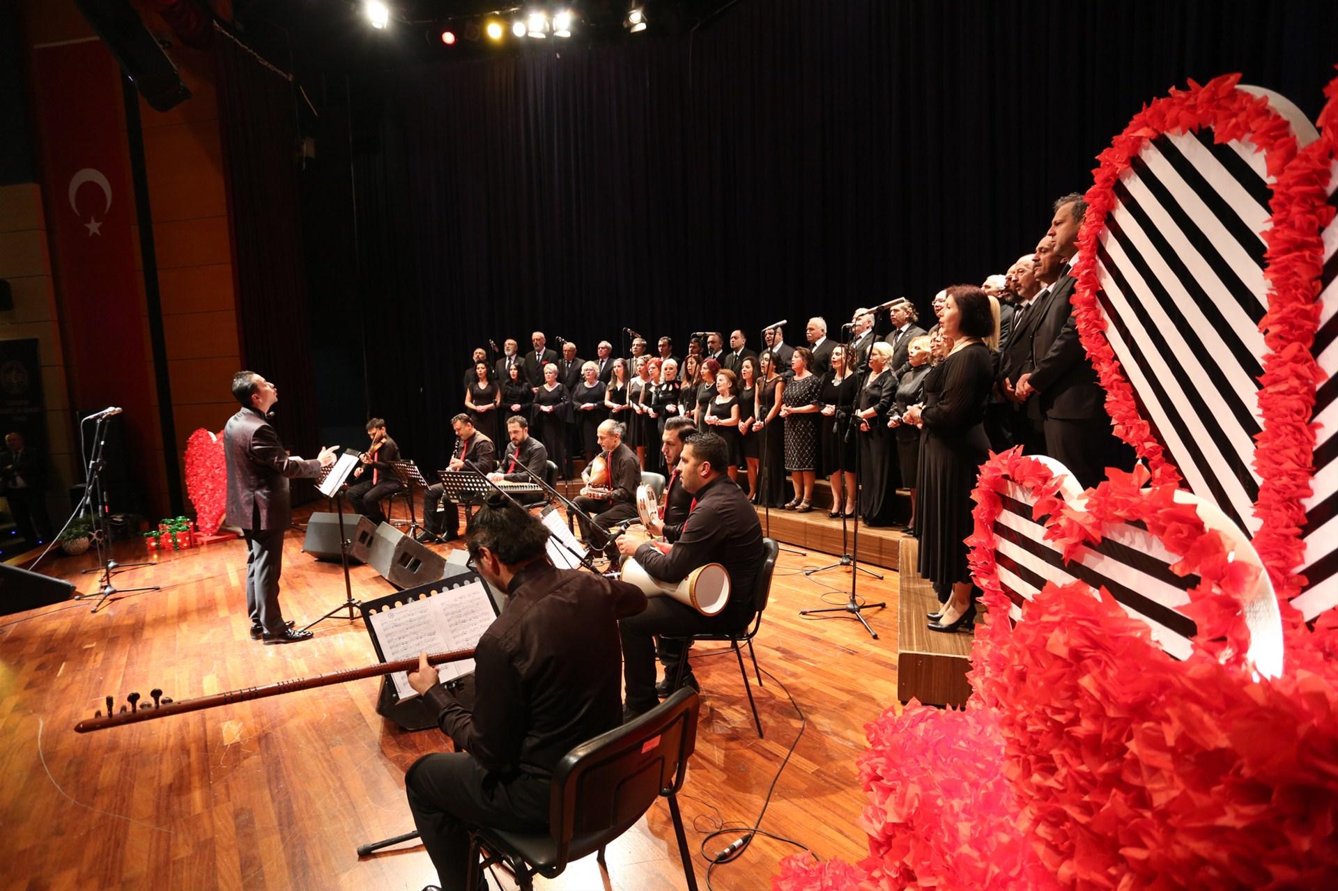 SATSO Türk Müziği Topluluğunun sevgi konseri gerçekleşti