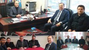 Kaymakamımız Bekir Dınkırcı'dan Siyasi Partilere İade-i Ziyaret.