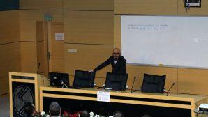 """SAÜ'de """"Mutluluğun Kimyası"""" konulu konferans düzenlendi."""