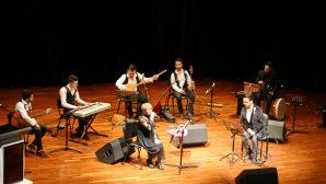 """""""Yedi Renk Anadolu"""" temalı Türk halk müziği konseri düzenlendi."""