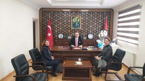 Arifiye ve Kazım Karabekir Anaokulundan Kaymakama ziyaret.