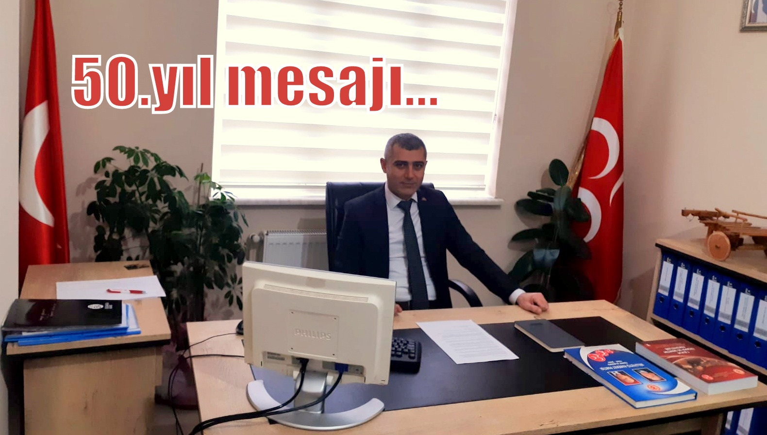 """MHP Arifiye İlçe Başkanı YÖRDAN,""""Nice 50, Nice 500 yıllara"""""""