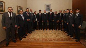 MÜSİAD Başkanı,Bakan Akar'ı ziyaret etti