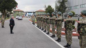 Vali Nayir'den Şehit Onbaşı Mustafa Özen Kışlasına Ziyaret