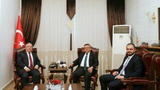 Bilecik Milletvekili Selim Yağcı'dan Vali Nayir'e ziyaret etti.