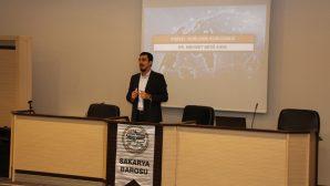 'Kişisel Verilerin Korunması Kanunu' konulu seminer gerçekleştirildi