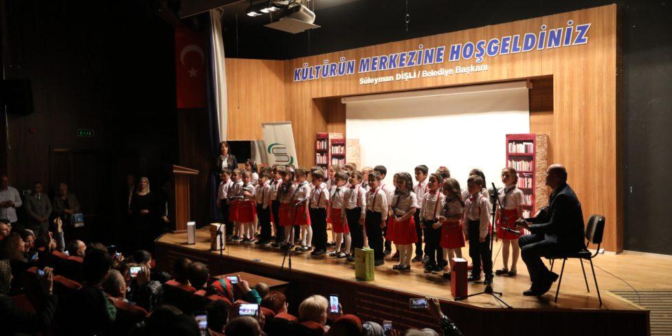 Kütüphaneler Haftasında Kutlama Programı düzenlendi