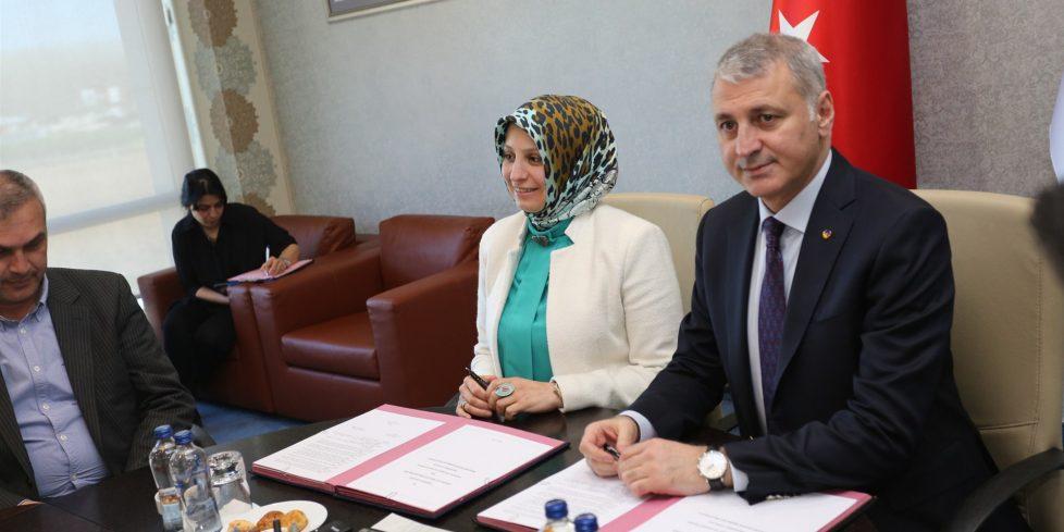 Plastik teknolojisi mesleki eğitim işbirliği protokolü imzaladılar