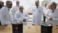 Vali Nayir Et ve Süt Kurumu Tesislerinde İncelemelerde Bulundu