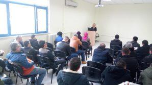 Barodan hükümlülere yönelik eğitimler devam ediyor