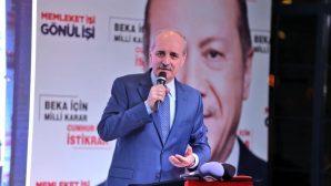"""""""Ortak idealimiz güçlü, büyük Türkiye'dir. """""""