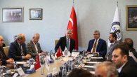 Başkan Adayı Ekrem Yüce,SATSO'da Meslek Komitesi Başkanlarıyla bir araya geldi