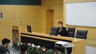 """SAÜ'de """"Girişimci Kadınlar"""" isimli bir konferans düzenlendi."""