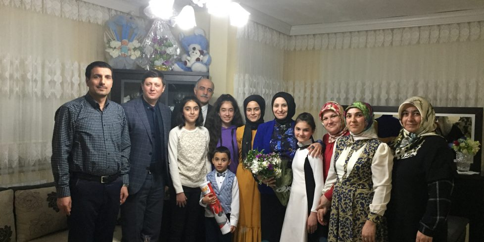 İl Milli Eğitim  Müdürü Fazilet DURMUŞ'tan Ev Ziyareti