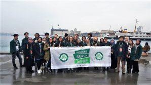 SAÜ'lü Yeşilaycılar Yeşilay Haftasını Kutladı