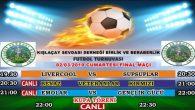 Kışlaçay Sevdalıları Cumartesi Günü Halı Saha Futbol Şöleninde Buluşacak!