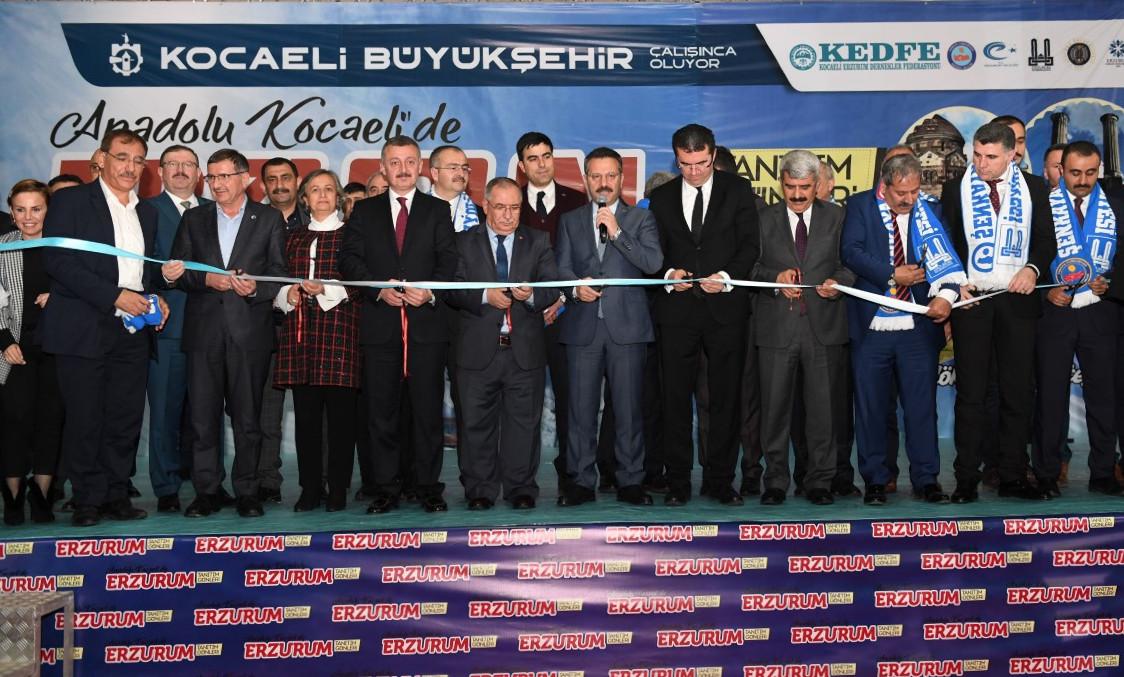 Erzurum Tanıtım Günleri Kocaeli'de başladı