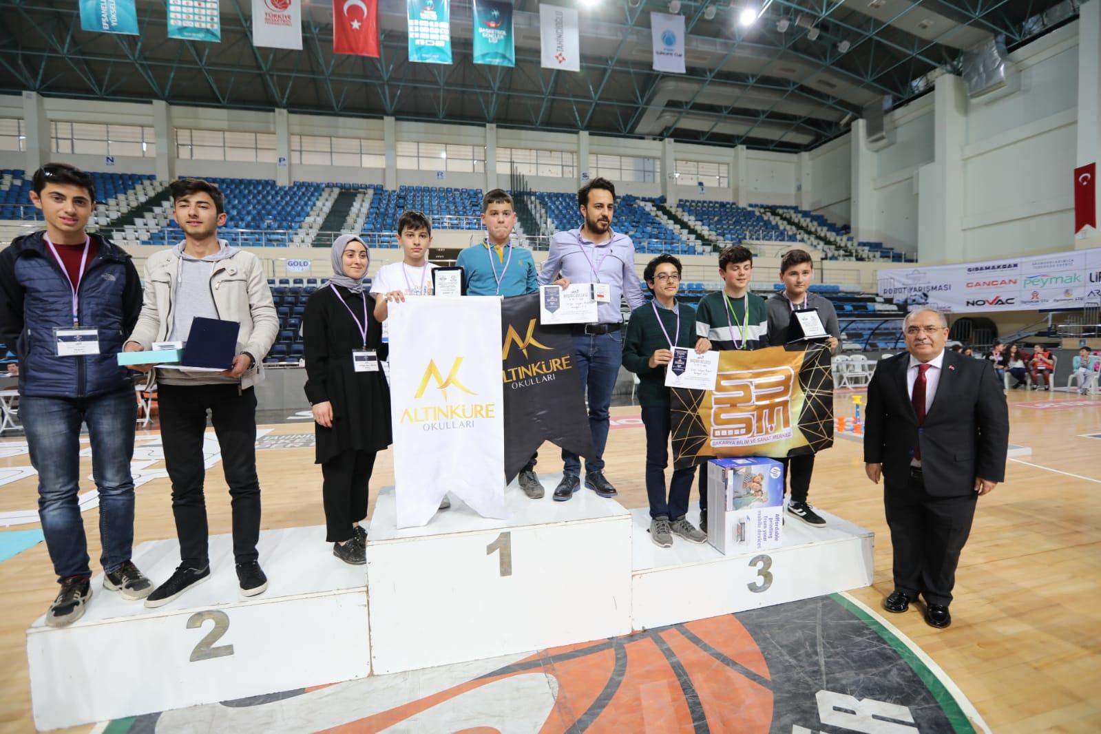 Edurotech Robot Yarışması Ödül Töreni gerçekleşti.