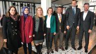 Başkan Burak Kamuda çalışan avukatlar ile bir araya geldi