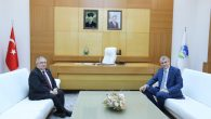 Vali Nayir'den Büyükşehir Belediye Başkanı Yüce'ye Hayırlı Olsun Ziyareti