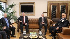Vali Nayir'den Emniyet Müdürlüğüne Polis Haftası Ziyareti