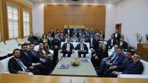 AK Parti İl yönetim kurulundan tebrik