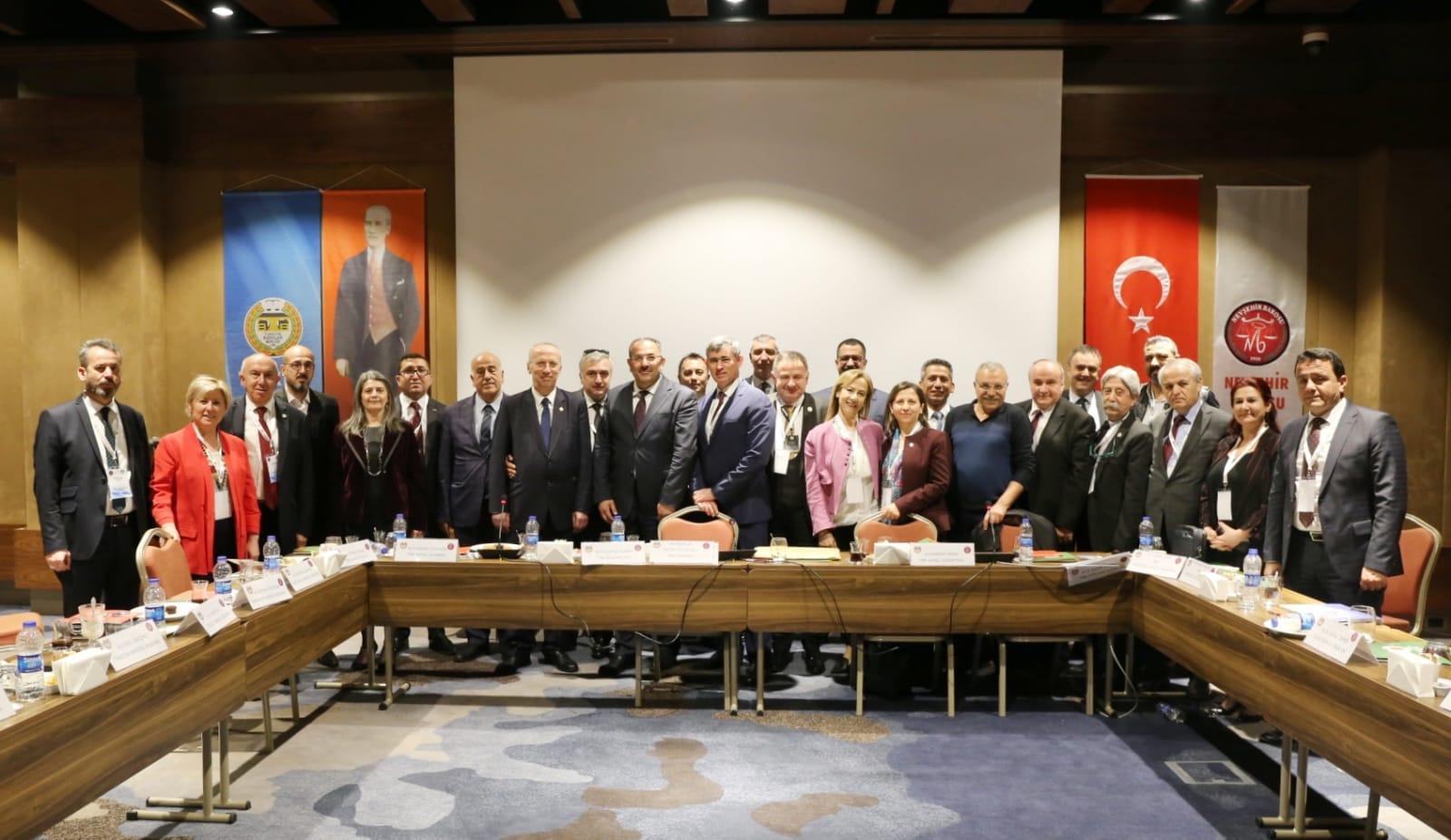 Baro Başkanları Nevşehir'de toplandı