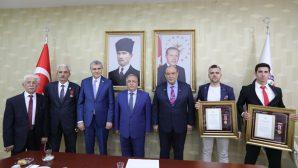 15 Temmuz Gazilerine Devlet Övünç Madalyası verildi