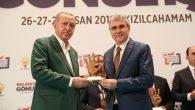 Cumhurbaşkanı Erdoğan'dan Sakarya'ya başarı plaketi