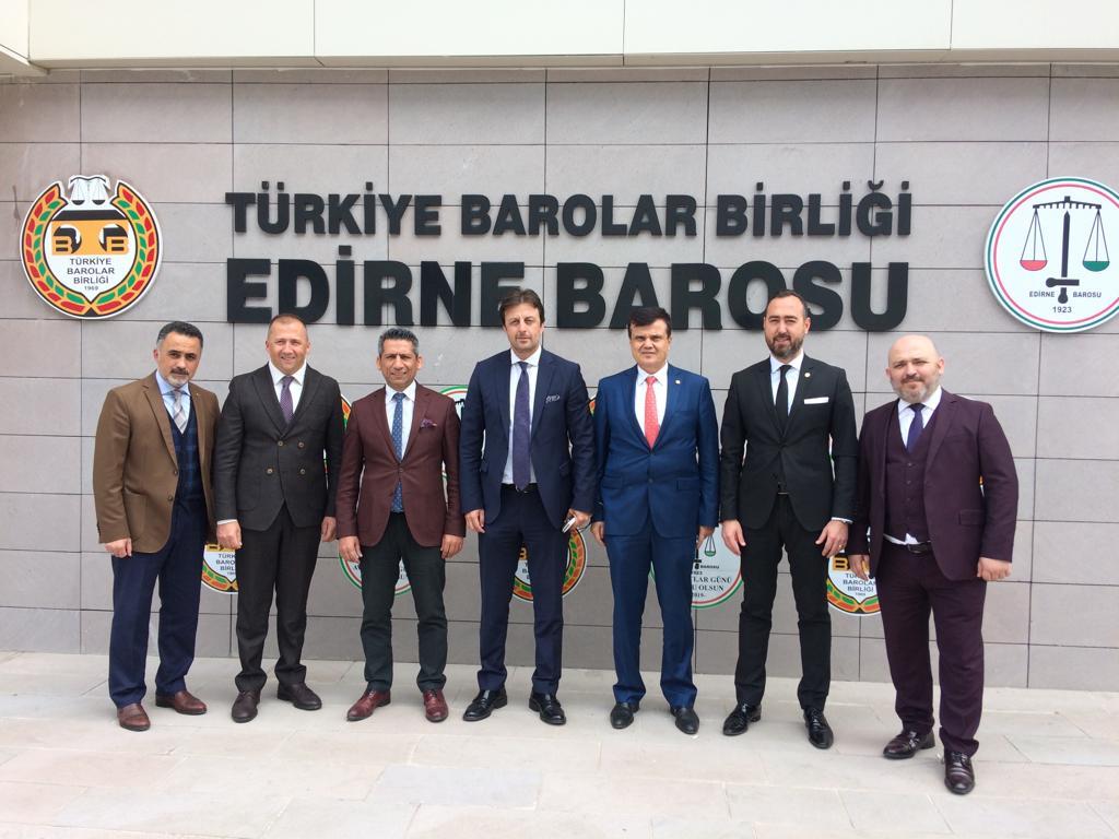 Başkan Burak Edirne'deki eğitim ve toplantıya katıldı