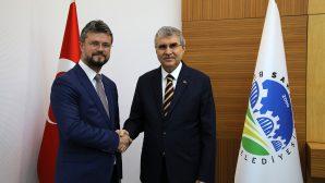 MHP İl Başkanı Akar,Yüce'ye başarı dileklerini iletti.