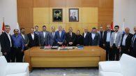 AK Parti Arifiye ilçe teşkilatı Başkan Ekrem Yüce'yi ziyaret etti