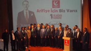 Yeniden Refah Partisi Arifiye 1. Olağan kongresi gerçekleşti.