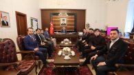 Genç MÜSİAD Yeni Yönetimi Valiyi Ziyaret Etti