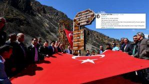 Şehit Kaymakamımız  Muhammet Fatih SAFİTÜRK'ün İsmi Tunceli'de Yaşayacak