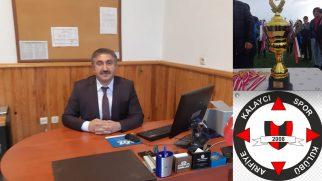 Muhtar DİŞLİ,Arifiye Kalaycıspor'a başarı diledi.