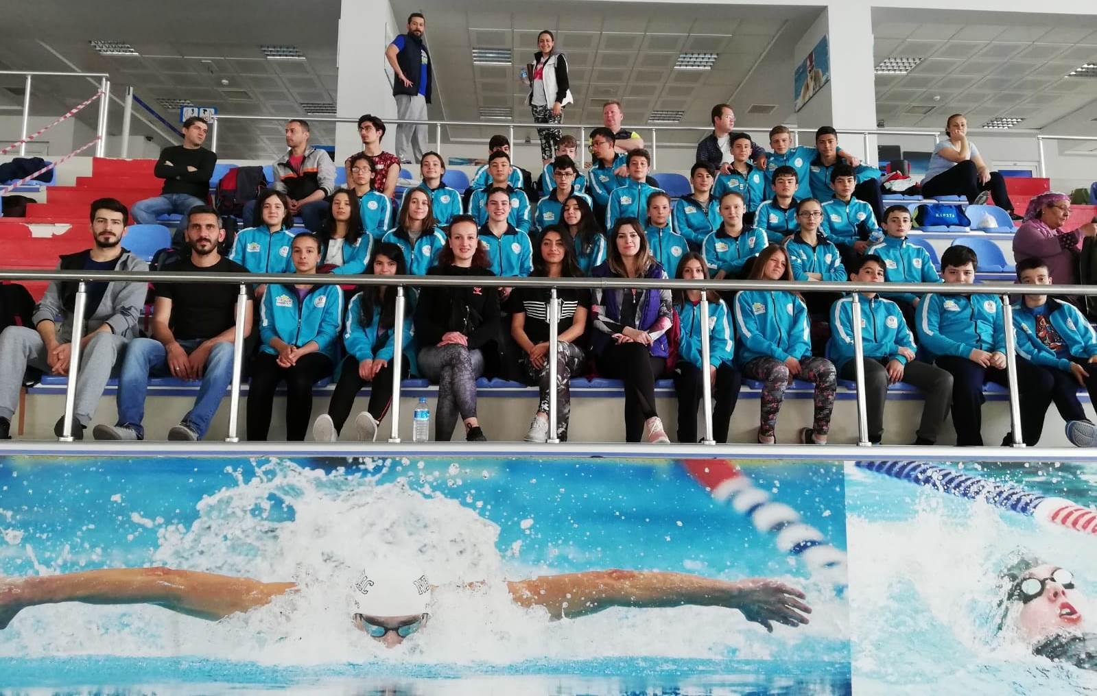 Anadolu Yıldızlar Ligi Yüzme Yarı Final Grup müsabakaları sona erdi.