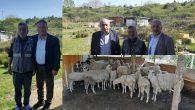 Ali Yavuz'u Çiftliğinde ziyaret ettiler!..
