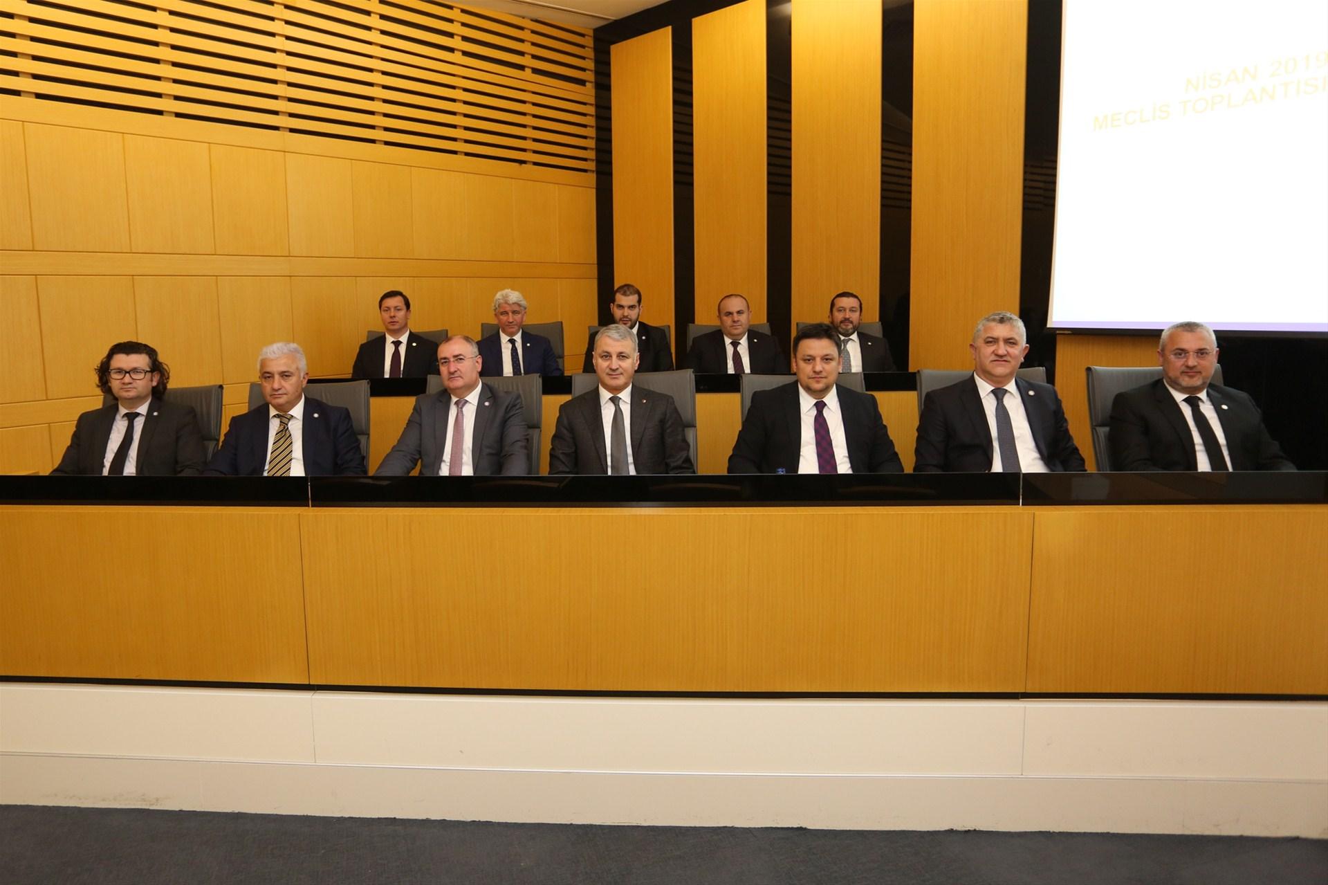 SATSO Nisan Ayı Meclis Toplantısı gerçekleşti