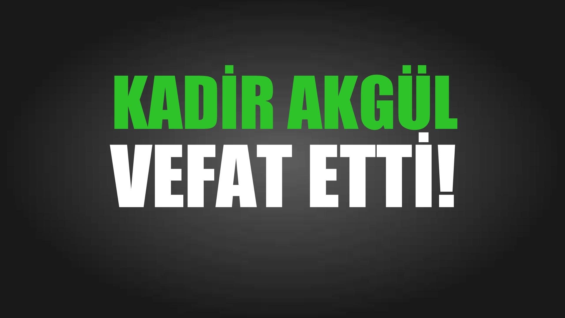 AKGÜL AİLESİNİN ACI GÜNÜ!..