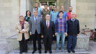 Vali Nayir DSİ 32. Şube ve Türk Telekom İl Müdürlüğünde temaslarda bulundu.